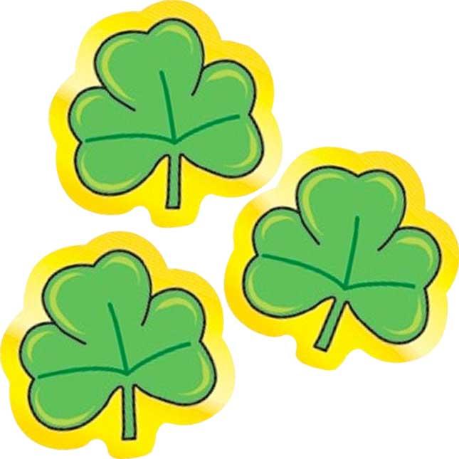 St. Patrick's Day Shamrocks Stickers