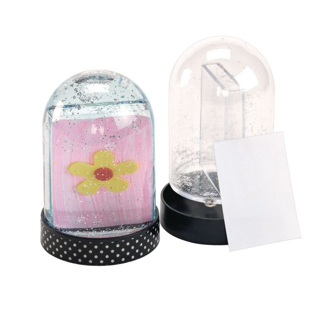 Colorations Create Your Own Snow Globe Set of 12