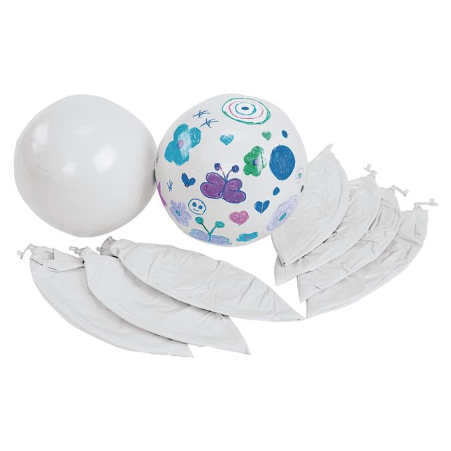 Colorations® Decorate Your Own Beach Balls