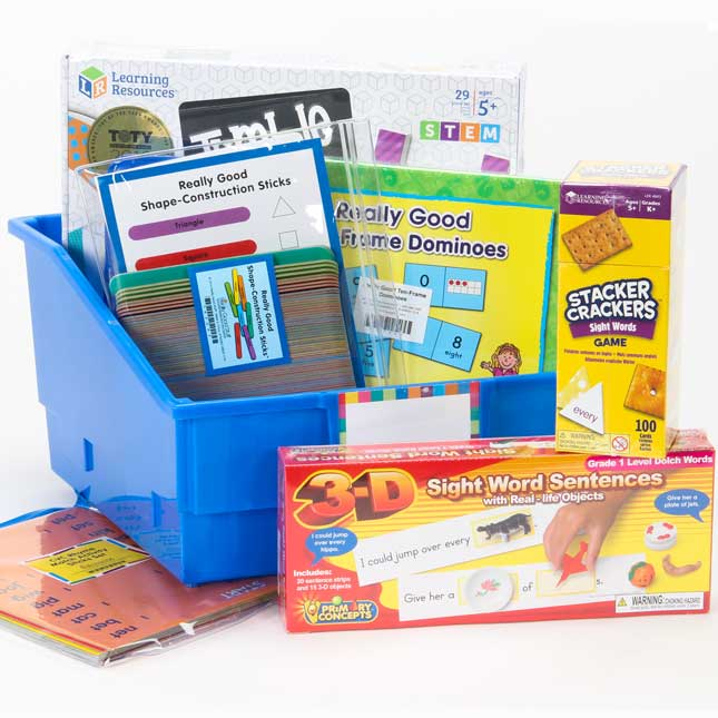 Educational Games For 6-Year-Olds - Deluxe Kit - 1 multi-item kit