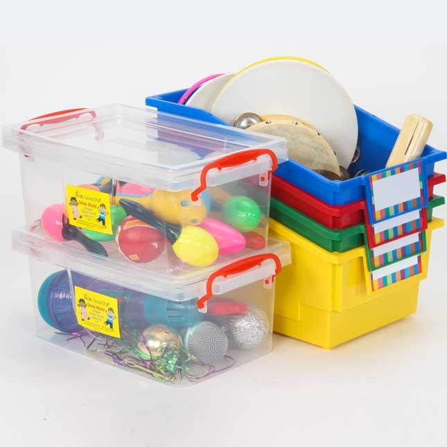 Toy Storage - 6 Bin Kit