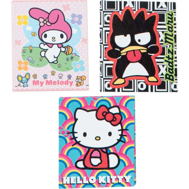 Hello Kitty Little Blank Memo Books