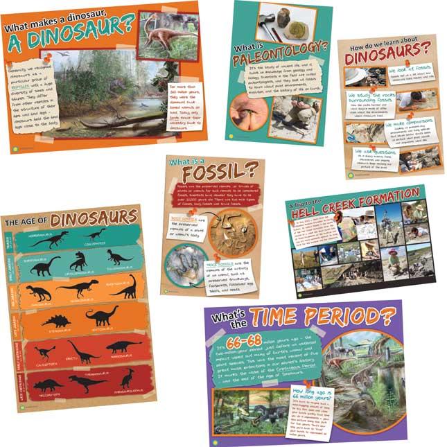 Smithsonian Amazing Dinosaurs Bulletin Board Set