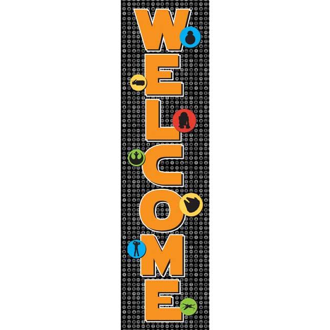 Star Wars Welcome Vertical Banner