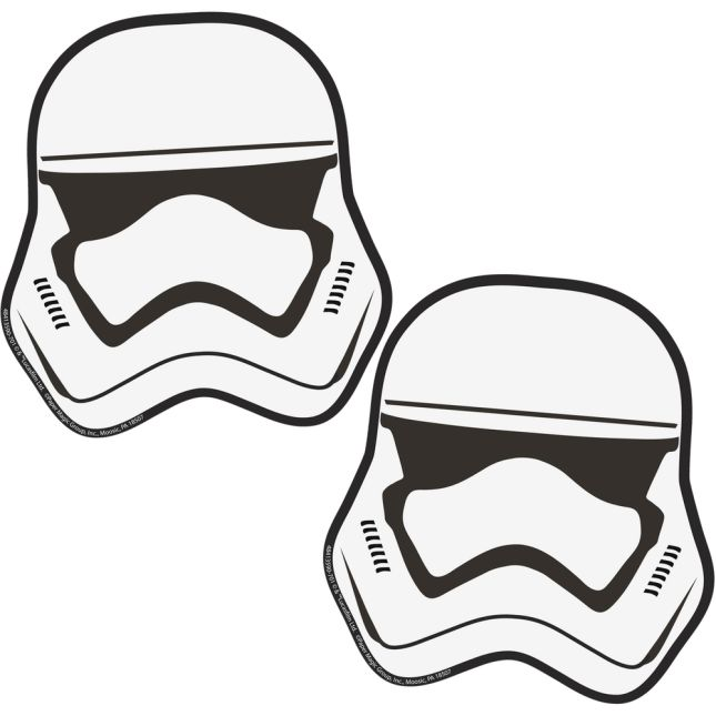 Star Wars Storm Troopers Paper Cut-Outs - 36 cut-outs