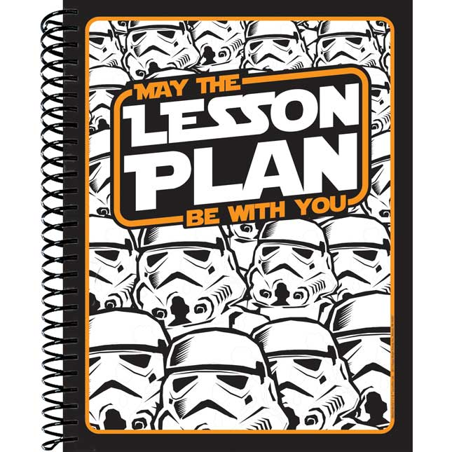 Star Wars Storm Troopers Lesson Plan Book
