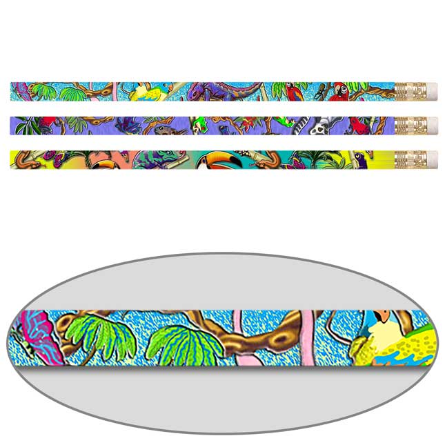 Tropical Rainforest Pencils