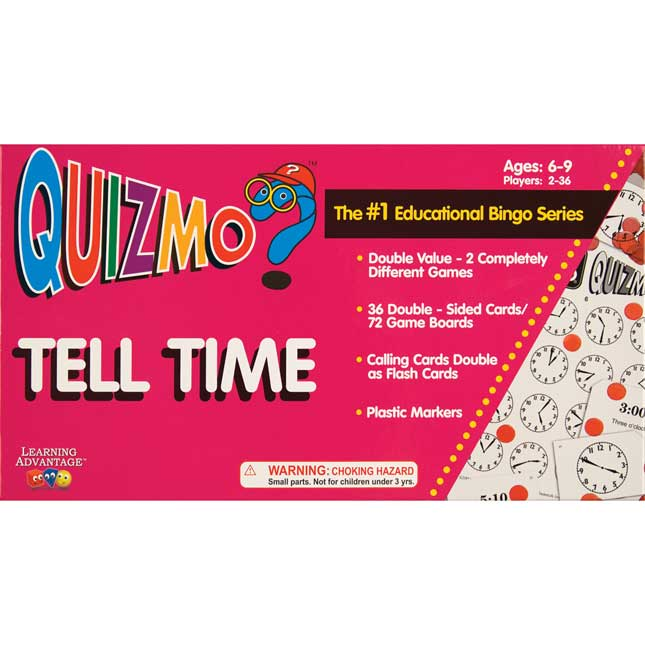 Quizmo Tell Time