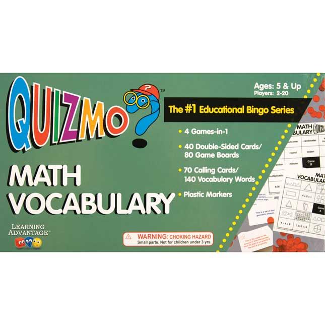Quizmo Math Vocabulary