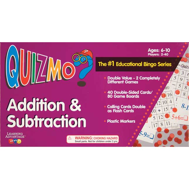 Quizmo Addition and Subtraction