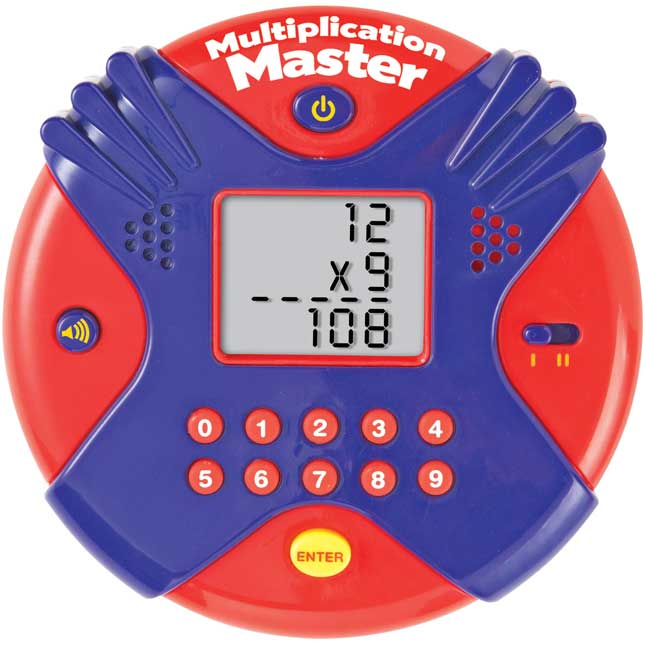 Multiplication Master Electronic Flash Card Game