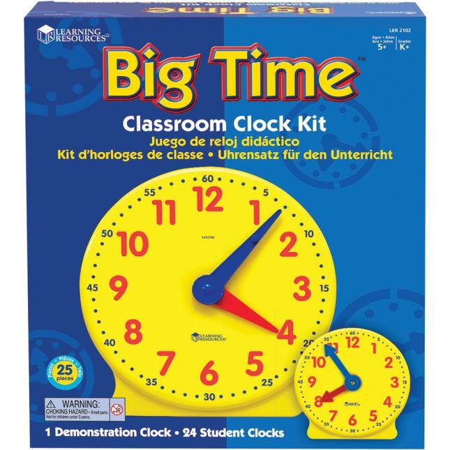 Big Time Clocks - Demo Clock And 24 Mini Clocks