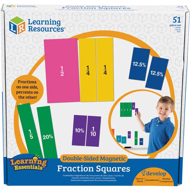 Double-Sided Magnetic Squares
