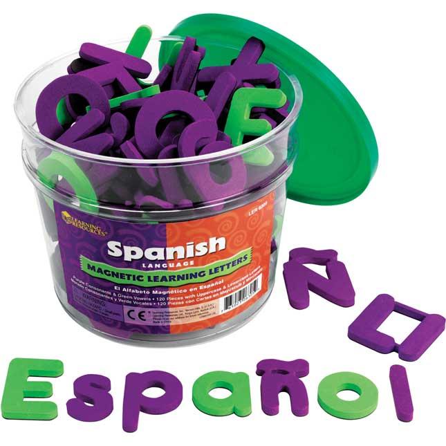 Spanish Magnetic Foam Learning Letters