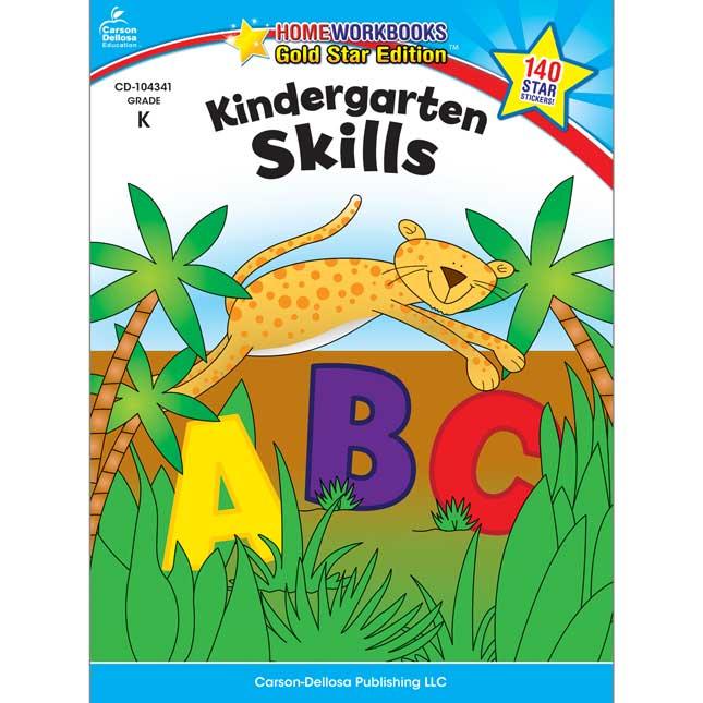 Home Workbooks, Gold Star Edition™ Kindergarten Skills