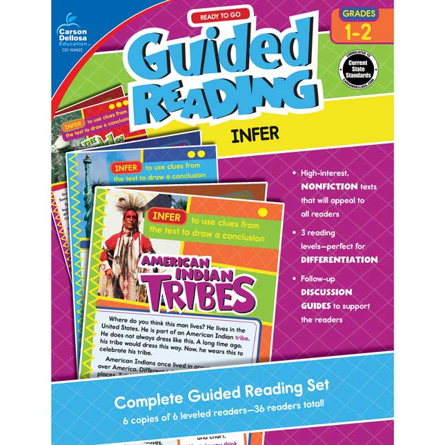 Ready to Go Guided Reading: Infer Resource Book, Grades 1-2