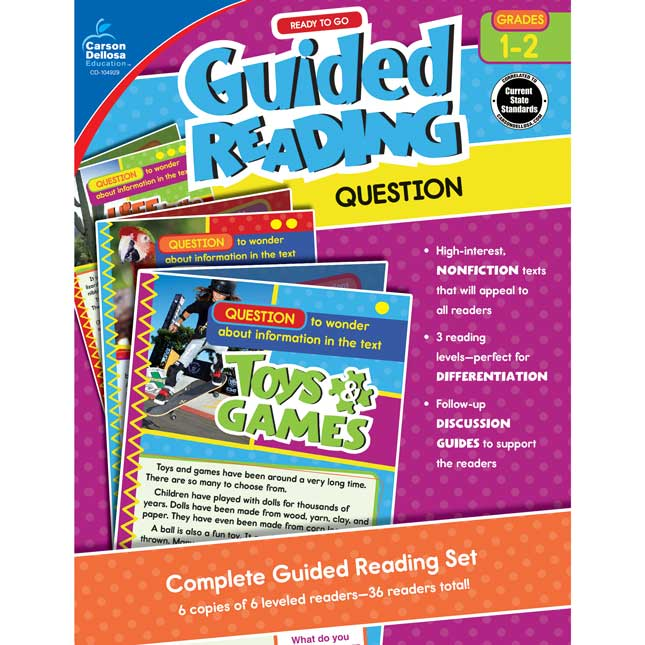 Ready To Go Guided Reading: Question Resource Book, Grades 1-2