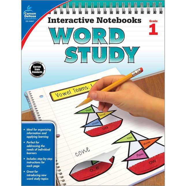 Interactive Notebooks: Word Study