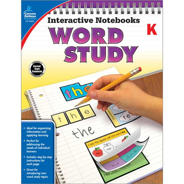 Interactive Notebooks: Word Study - 1 book