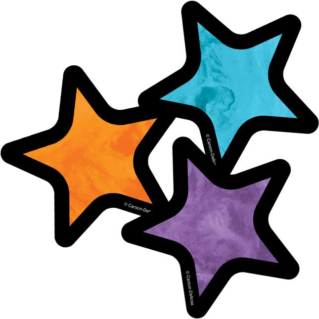 Celebrate Learning Stars Mini Cutouts