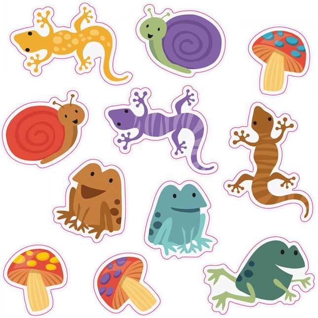 Nature Explorers Shape Stickers