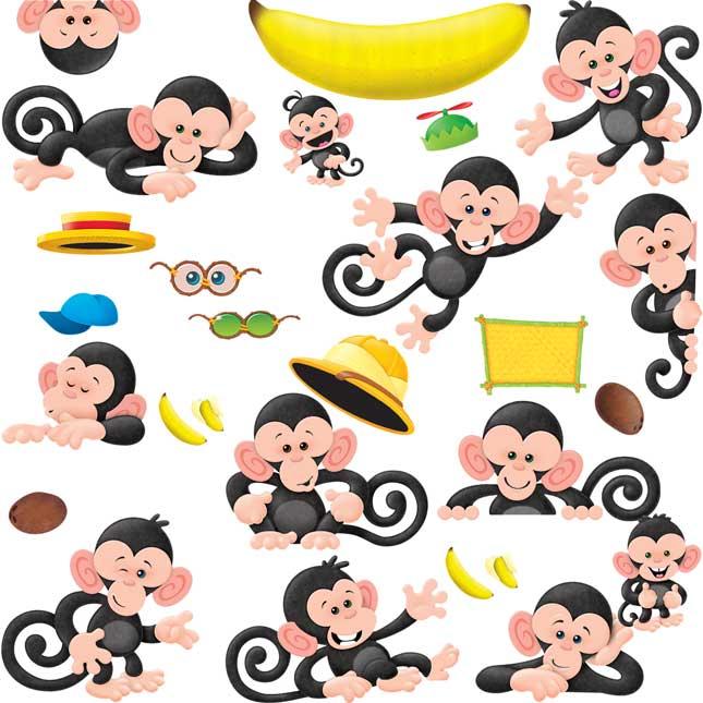 Monkey Mischief® Bulletin Board Set