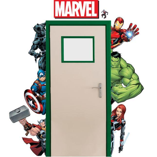Marvel Superhero Door Go-Arounds® - 7-piece set