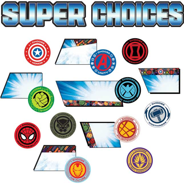 Marvel™ Super Choices Mini Bulletin Board Set