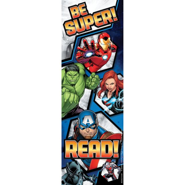 Marvel™ Superhero Bookmarks - 36 bookmarks