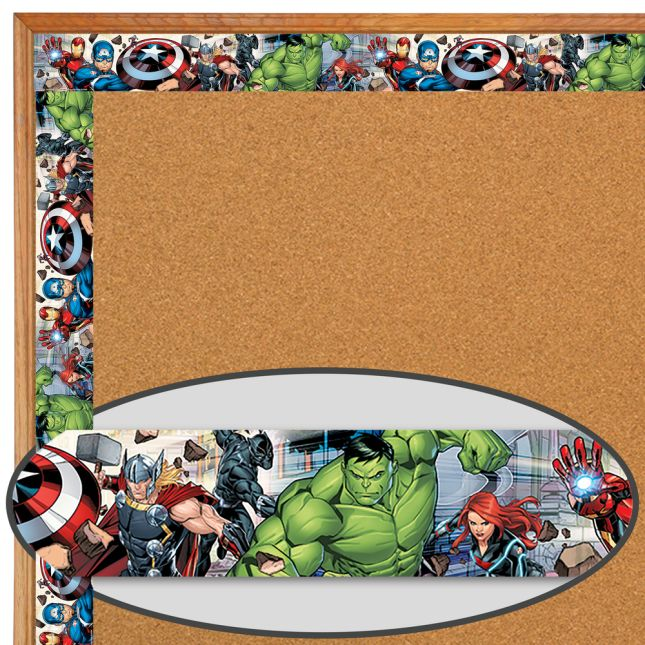 Marvel™ Superhero Extra-Wide Deco Trim