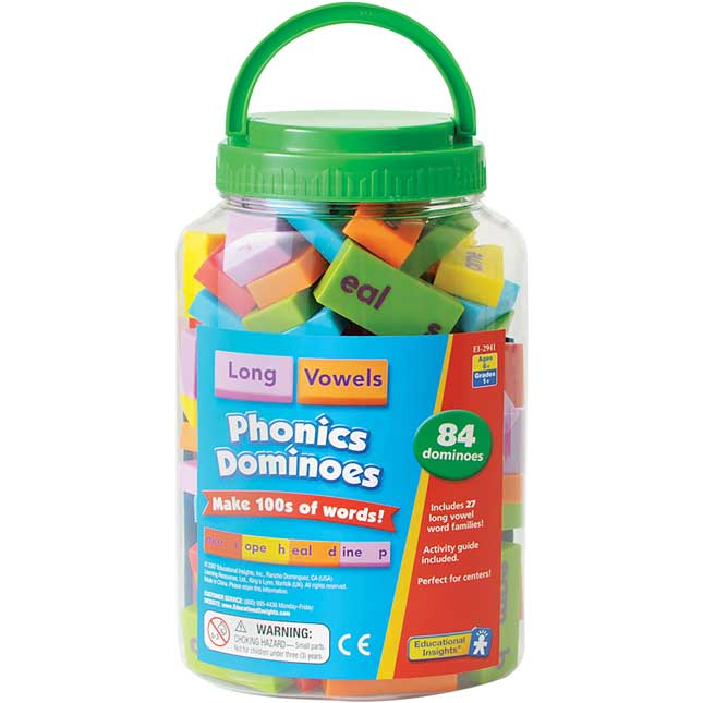 Phonics Dominoes - Long Vowels
