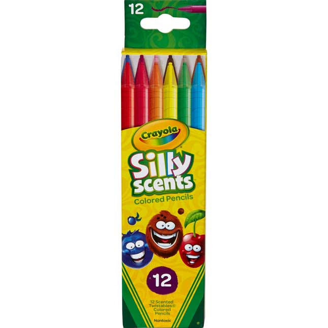 Silly Scents Twistable Colored Pencils
