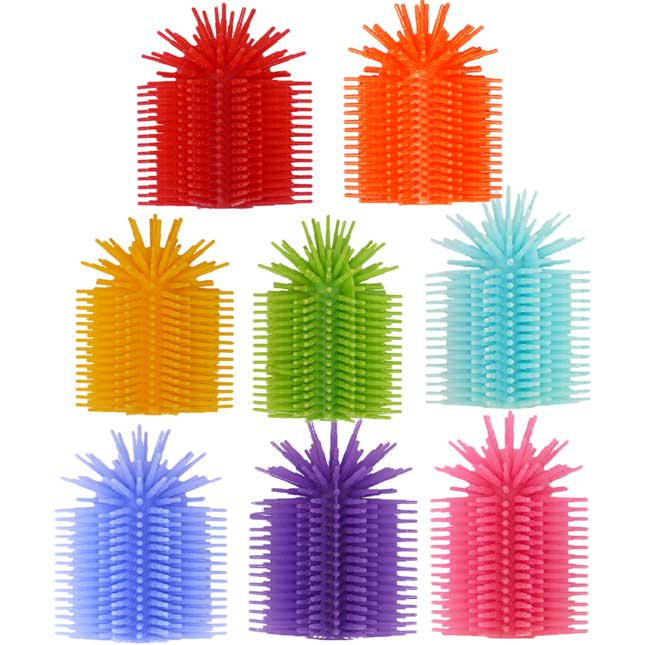 Spike Silicone Fidget Topper 8-Pack