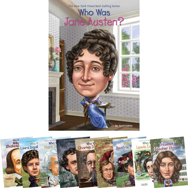 Who Is, Who Was Famous Authors - Set 2