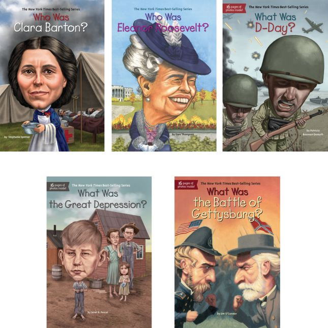 Who Are, Who Was, Where Is, What Was In American History - 10-book set