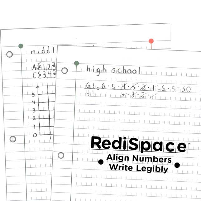 RediSpace® Notebook Filler Paper
