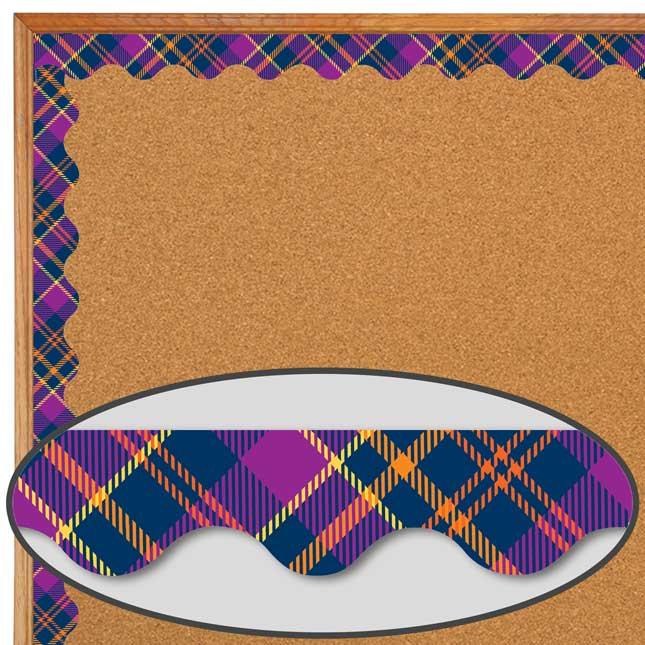 Plaid Attitude Purple Plaid Deco Trim®