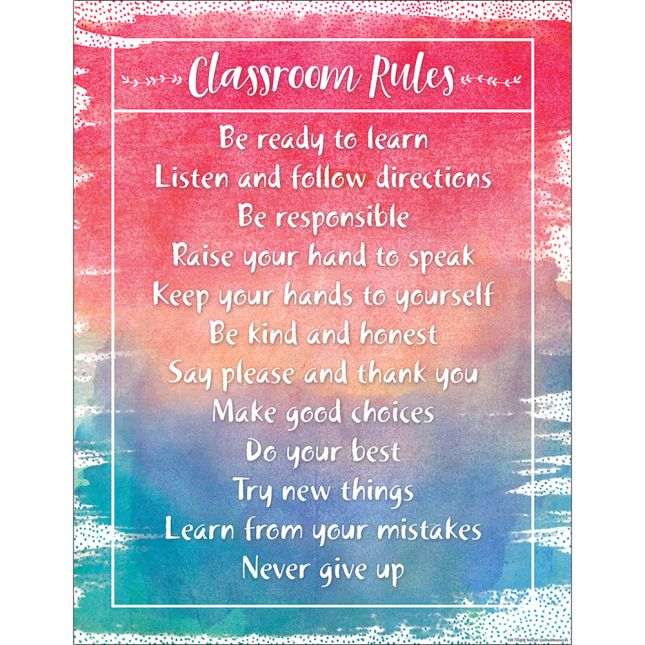 Watercolor Classroom Chart 2-Pack_1
