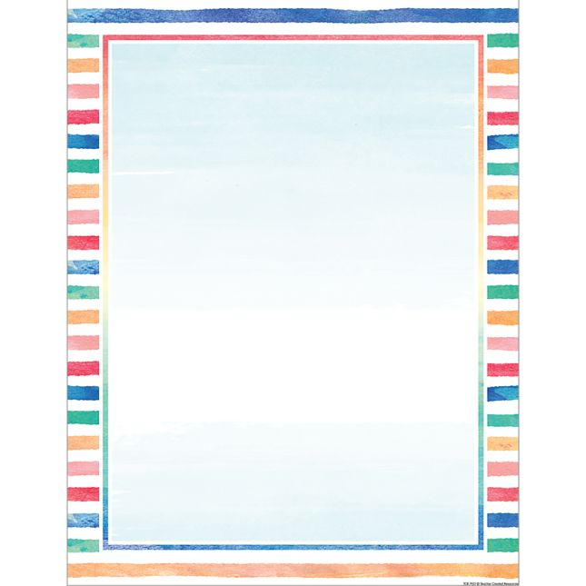 Watercolor Classroom Chart 2-Pack_2