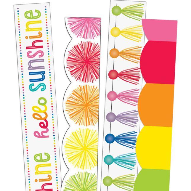 Hello Sunshine Border Trim Bundle - 4 border trims_0