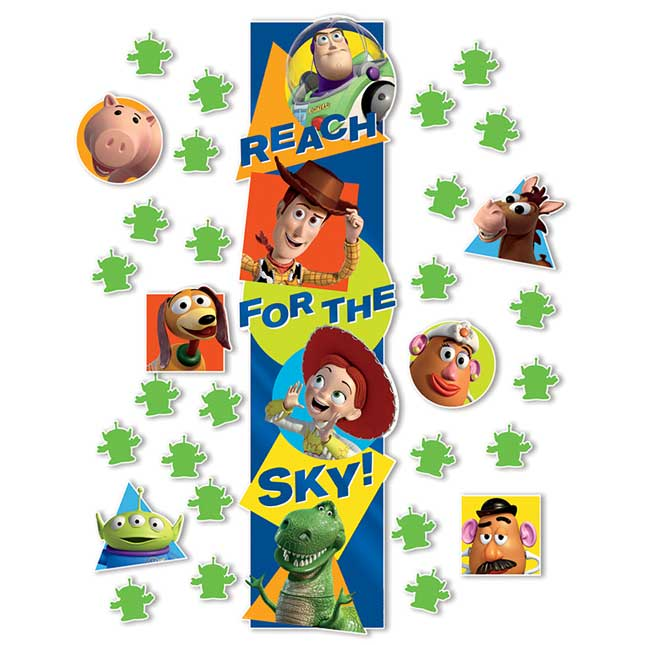 Toy Story® All-In-One Door Décor Kit - 31 pieces