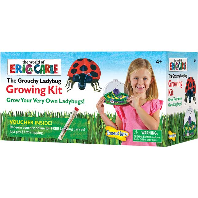 The Grouchy Ladybug™ Growing Kit With Voucher