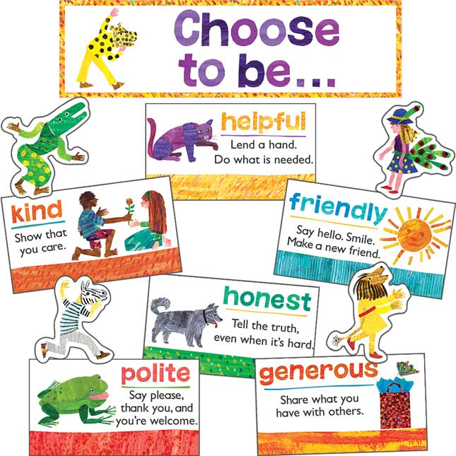 The World Of Eric Carle™ Positive Character Traits Classroom Set