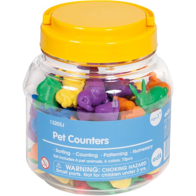 Pet Counters - 72 counters