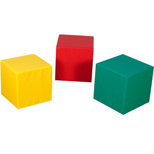 "16"" Teacher Cubes - Set Of 3"