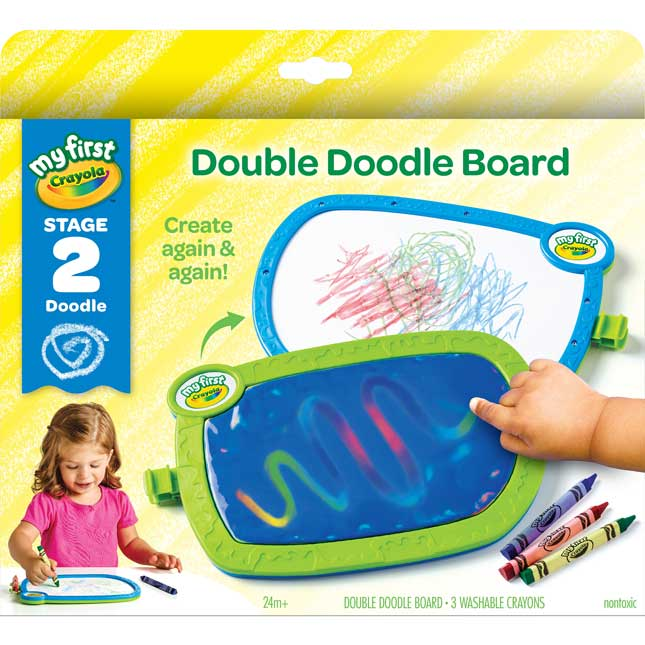 My First Crayola Double Doodle Board