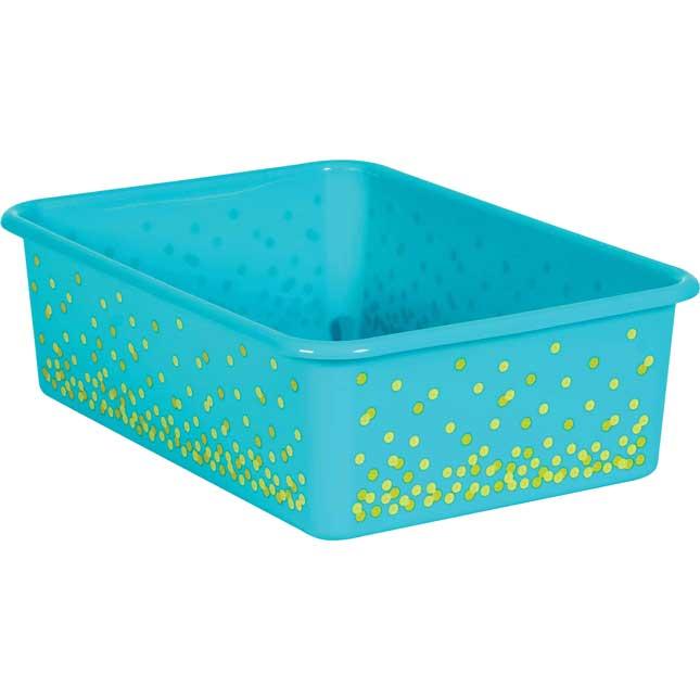Confetti Large Plastic Storage Bin