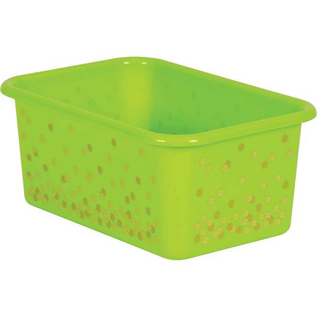 Confetti Small Plastic Storage Bin