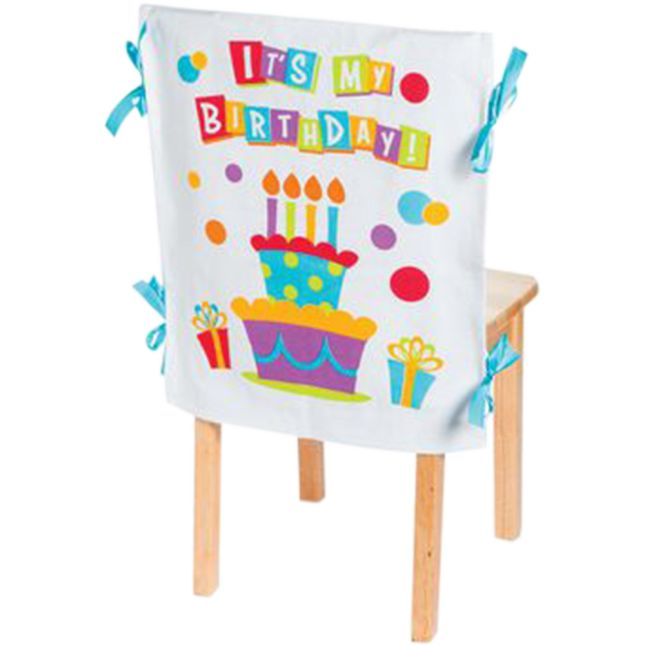 It's My Birthday Canvas Chair Cover