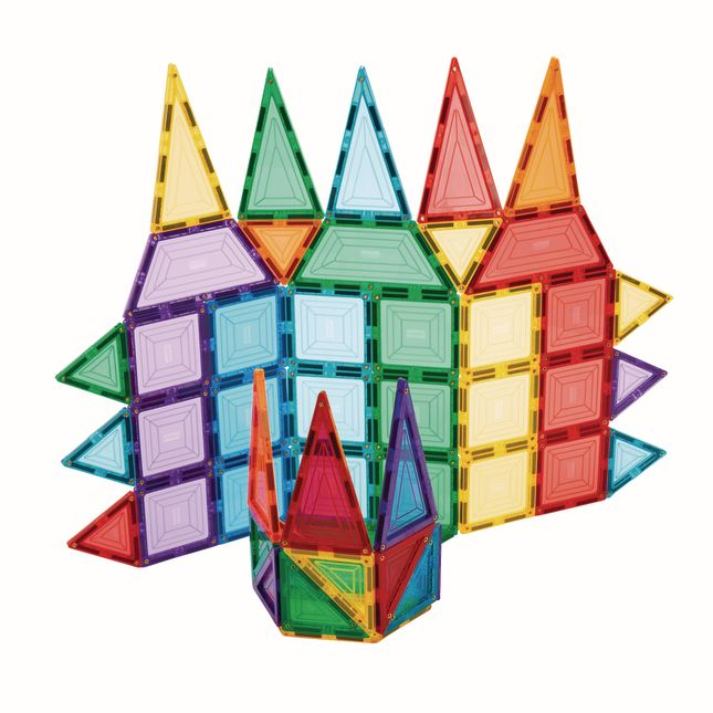 Excellerations Building Brilliance® Magnetic Shapes - 48 Pieces